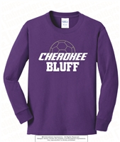 Cherokee Bluff Half Soccer Ball Long Sleeves