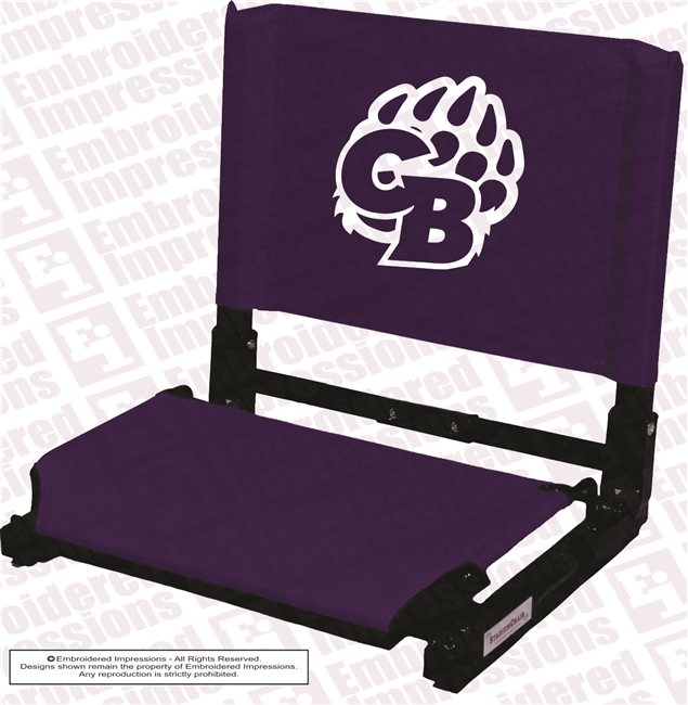 Cherokee Bluff Bears Stadium Chair