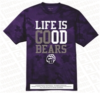 Life Is Good Bears Dri-Fit Camo Hex Tee