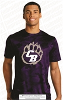 Cherokee Bluff Bears Dri-Fit Camo Hex Tee