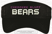 Cherokee Bluff Bears Posi-Charge Visor