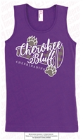 Ladies and Girls Cheerleading Tank