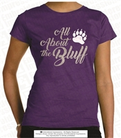All About the Bluff Glitter Tee