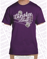 Cherokee Bluff Cheerleading Tee