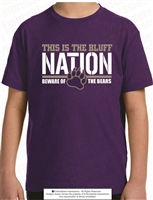Cherokee Bluff - Bluff Nation Tee