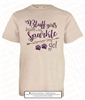 Cherokee Bluff Girls Sparkle Tee