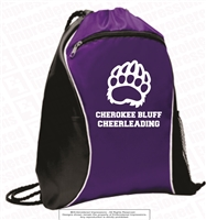 Cherokee Bluff Cheerleading Cinch Bag