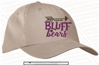 Cherokee Bluff Washed Cap