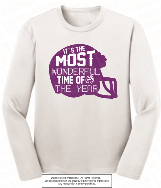 Most Wonderful Time Wicking Long Sleeve Tee