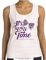 Bow Time C Bluff Cheerleading Tank