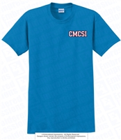 Left Chest CMCSI Cotton Tee