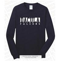 Dacula Falcons Long Sleeve Fan Tee