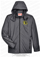 Dacula Falcons Rain Jacket with Mesh Lining