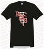 Pattered DMS Falcons Logo Tee