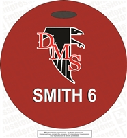 DMS Falcons Custom Bag Tag