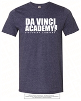DA VINCI ACADEMY INC Tee in Heather Blue