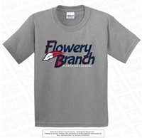 Tri-Color Flowery Branch Elementary Logo Tee