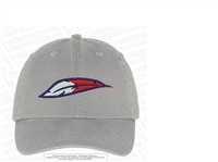 FB Feather Logo Washed Twill Cap
