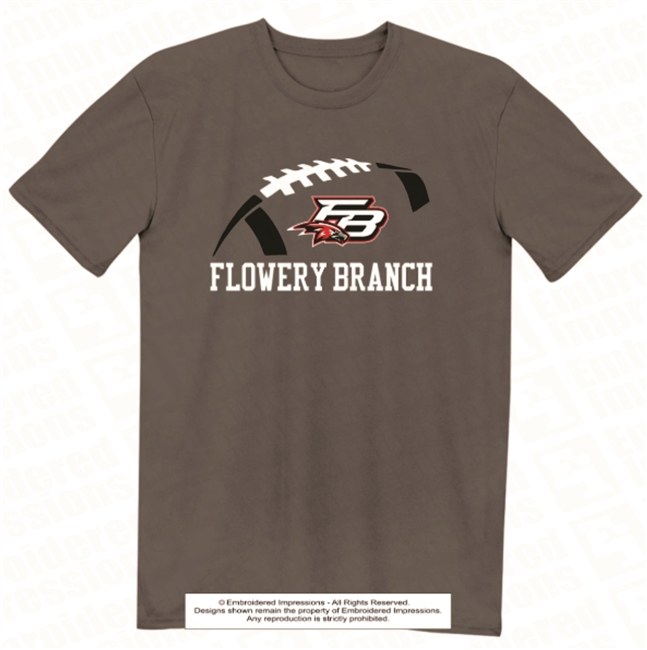 Flowery Branch Football Tee