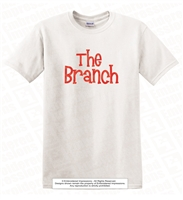 The Branch Vinyl Printed Fine Jersey Tee