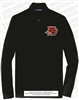 Applique FB Falcons Embroidered Mesh 1/2-Zip