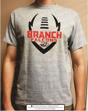 FBHS Falcons Football SS Fan Tee
