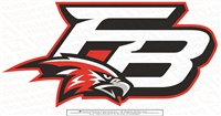 FB Falcons Logo Sticker