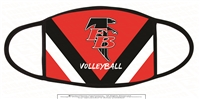 FB Volleyball Three Ply Mask