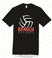 BRANCH Volleyball Tee