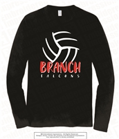 BRANCH Volleyball Long Sleeve Tee