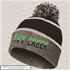 Reflective Beanie with Pom Pom