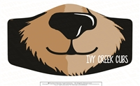 Ivy Creek Cubs Three Ply Polyester Mask