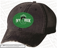 Ivy Creek Distressed Paw Cap