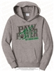 Paw Power Fleece Pullover Hoodie