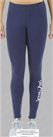 The Creek Navy Leggings