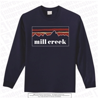 Landscaped Mill Creek Long Sleeve Tee