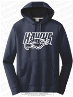 Jones Hawks Wicking Hoodie