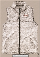 Jones Hawks Grey Sherpa Vest