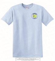 John K Tennis Ball on Left Chest Tee