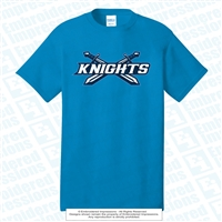 Double Knights Swords Cotton Tee