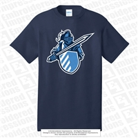 Knights Sword and Shield Cotton Tee