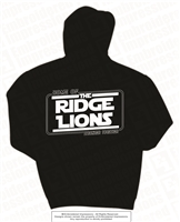 Home of the Ridge Lions Hoodie in 4 Color Choices