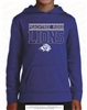 Peachtree Ridge Lions Hoodie in Royal