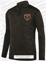 Youth and Adult Heathered 1/4 Zip Pullover