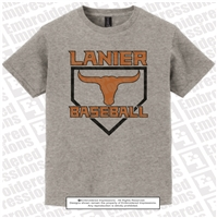 Lanier Baseball Light Weight Tee
