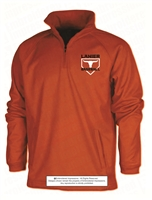 Quarter-Zip Polyester Pocketed Sweatshirt