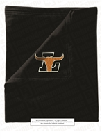 Lanier Longhorns Embroidered Fleece Stadium Blanket