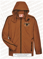 Adult Light Weight Full Zip Hooded Jacket
