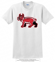 Digitally Printed Wildcats Logo Cotton Tee