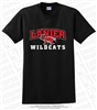 Full Color Lanier Wildcats Logo Tee
